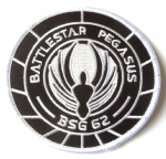 Battlestar Galactica BSG 62 Embroidered Iron On Appliques Patch 8153